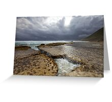 The Sandpatch - Albany Western Australia Greeting Card