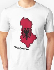 Zammuel's Country Series - Albanian (Albanian text) T-Shirt