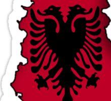 Zammuel's Country Series - Albanian (Albanian text) Sticker