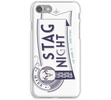221B Stag Night iPhone Case/Skin