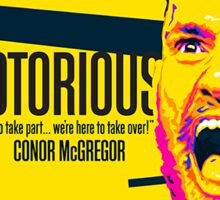 Conor Mcgregor Sticker Sticker