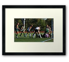 100511 078 0 field hockey Framed Print