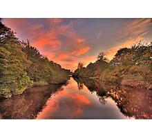 Candyfloss sunset ! Photographic Print