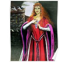 Mystical lady Poster
