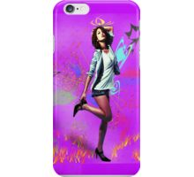 Fun Girl Pink iPhone Case/Skin