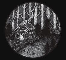 the mystic's cottage Kids Tee