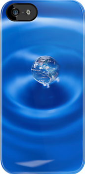 A Drop In The Ocean - iPhone Cover by Bryan Freeman