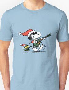 Snoopy Christmas Rock T-Shirt