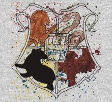Hogwarts Splatter Crest by Prewett