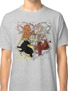 Hogwarts Splatter Crest Classic T-Shirt