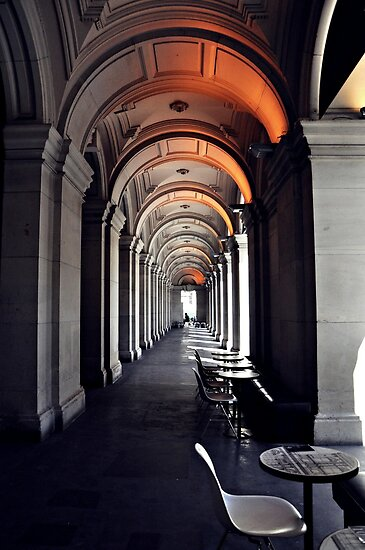 GPO Corridor by Karen E Camilleri