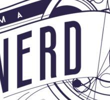 I Am A Nerd Sticker