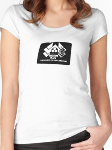 Die Hard: Welcome to Nakatomi Plaza Women's Fitted Scoop T-Shirt
