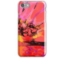 Scribbler sunset - iPhone cover iPhone Case/Skin