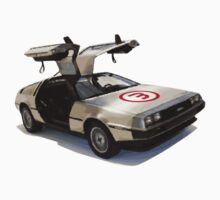 number 3 delorean by Vin  Zzep
