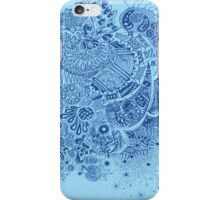 Blue doodle - iPhone cover iPhone Case/Skin