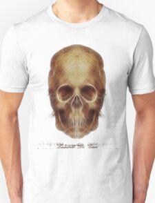 Leonardo Da Vinci Skull Fractal T-Shirt