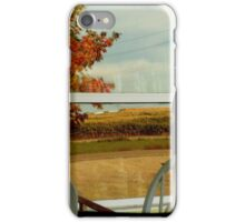 Reflections In A Country Window iPhone Case/Skin