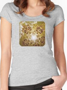 Energize, Surreal Nature Women's Fitted Scoop T-Shirt
