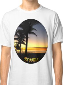 Tropical Sunset, Broome Classic T-Shirt