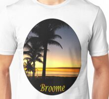 Tropical Sunset, Broome Unisex T-Shirt