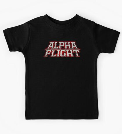 Alpha Flight  Kids Tee