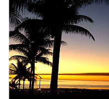 Tropical Sunset, Broome by Julia Harwood