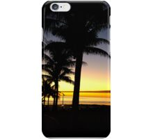 Tropical Sunset, Broome iPhone Case/Skin