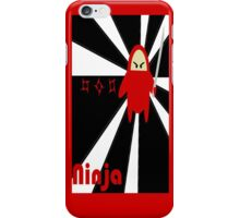 ninja  iPhone Case/Skin