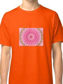 Pink Garden - Floral Kaleidoscope Classic T-Shirt