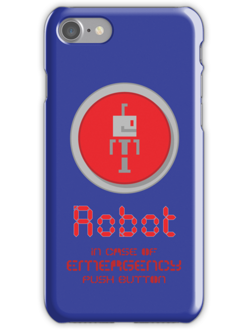 Robot Button by Rippletron