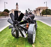 Steampunk Oamaru by Matthew Larsen