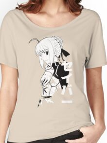 Fate/Stay night & Fate/Zero - SABER Women's Relaxed Fit T-Shirt