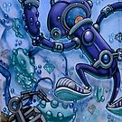 Robot World by Ali Brown