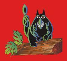 Celtic cat One Piece - Short Sleeve