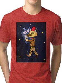 Halloween Doctor Who Tri-blend T-Shirt