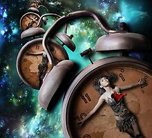 Time Will Reveal the Dreams of your Heart - iphone by Luke Griffin