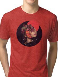 the bride Tri-blend T-Shirt