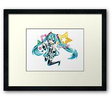 Hatsune Miku : Project Diva F Framed Print