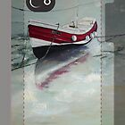 Coble iphone cover   by Sue Nichol