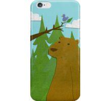 bear and friend  iPhone Case/Skin