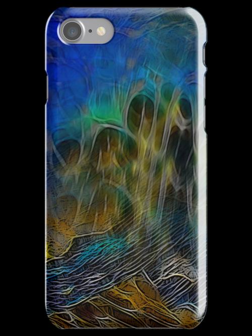 Eeb Colony I Phone Case by Diane Johnson-Mosley