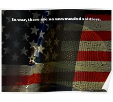No Unwounded Soldiers Poster