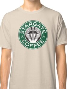 Stargate sg1 Coffee Classic T-Shirt