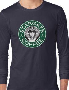 Stargate sg1 Coffee Long Sleeve T-Shirt