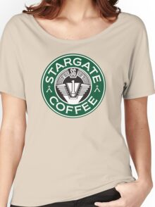 Stargate sg1 Coffee Women's Relaxed Fit T-Shirt