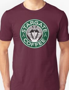 Stargate sg1 Coffee Unisex T-Shirt