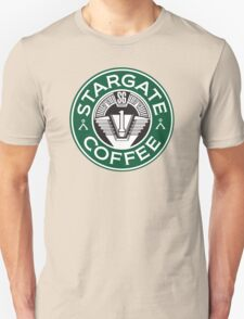 Stargate sg1 Coffee Unisex T-Shirt