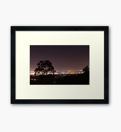 Lions Lookout Framed Print