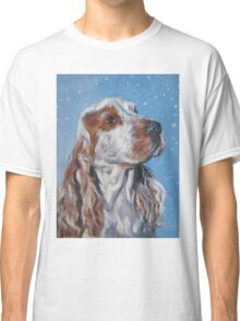 English Cocker Spaniel Fine Art Painting Classic T-Shirt